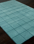 Jaipur Foundations By Chayse Dacoda FC01 Boxed In Aqua Sea/Aqua Sea Closeout Area Rug - Fall 2013