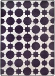 Surya Seventeen Flirty FLT-1039 White/Purple Closeout Area Rug - Spring 2011