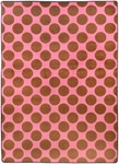 Surya Seventeen Flirty FLT-1042 Pink/Red Closeout Area Rug - Spring 2011