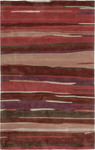 Jaipur Fusion FN01 Engrained Deep Red/Deep Red Closeout Area Rug