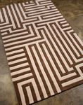 Jaipur Fusion FN02 Labyrinth Beige/Brown Closeout Area Rug - Fall 2013