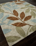 Jaipur Fusion FN15 Ivy League Dark Ivory/Dark Ivory Closeout Area Rug - Fall 2013