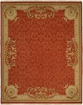 Kalaty Florence FR-628 Rust Closeout Area Rug