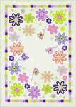 Dalyn Fun Time FT10 Ivory Closeout Area Rug - Spring 2010
