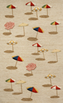Trans-Ocean Liora Manne Frontporch 1409/12 Beach Umbrella Natural Closeout Area Rug