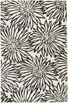 Surya Goa G-244 White/Black Closeout Area Rug - Spring 2011