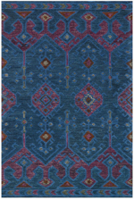Loloi Gemology GQ-02 Blue / Plum Area Rug