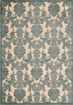 Nourison Graphic Illusions GIL03 TL Teal Area Rug