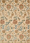 Nourison Graphic Illusions GIL06 LGD Light Gold Area Rug
