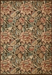 Nourison Graphic Illusions GIL10 BRN Brown Area Rug