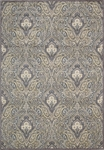 Nourison Graphic Illusions GIL11 GRY Grey Area Rug