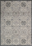 Nourison Graphic Illusions GIL12 GRY Grey Area Rug