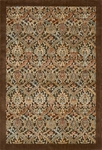 Nourison Graphic Illusions GIL15 CHO Chocolate Area Rug