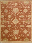Nourison Grand Estate GRA03 PER Persimmon Area Rug