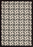 Joseph Abboud Griffith GRI02 ONYX Onyx Closeout Area Rug