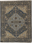 Feizy Goshen 0638F Dark Grey/Charcoal Area Rug