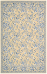 Nourison Country Heritage H312 YEL Yellow Closeout Area Rug