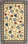 Nourison Country Heritage H802 YEL Yellow Closeout Area Rug