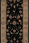 HE10 Heritage Hall Runner Black -  Nourison Heritage Hall Collection - Nourison offers an extraordinary selection of premium broadloom, roll runners, and custom rugs.