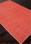 Jaipur Highlanders HL10 Lena White/Fiery Red Closeout Area Rug