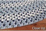 Surya Country Living Huntington Braids HNT-4503 Navy/Blue Closeout Area Rug - Spring 2012