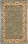 Nourison Heritage Savonnerie HS03 TUR Turquoise Closeout Area Rug