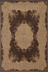 Nourison Heritage Savonnerie HS04 BRN Brown Closeout Area Rug