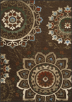 Dalyn Horizons HZ6 Chocolate Closeout Area Rug - Fall 2017