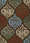 Dalyn Horizons HZ9 Chocolate Closeout Area Rug - Fall 2017