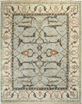 Bashian Vintage I123 HSA101 Light Blue Closeout Area Rug