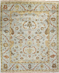 Bashian Vintage I123 HSA102 Light Blue Closeout Area Rug