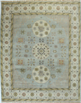 Bashian Vintage I123 HSA111 Light Blue Area Rug