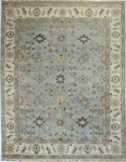 Bashian Vintage I123 HSA112 Light Blue Closeout Area Rug