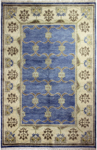 Bashian Vintage I123 HSA110 Light Blue Closeout Area Rug