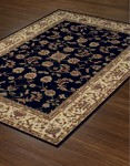 Dalyn Imperial IP531 Black Closeout Area Rug