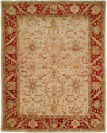 Kalaty Ismir IS-752 Ivory/Rust Closeout Area Rug