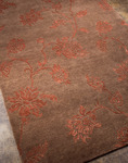 Jaipur J2 J202 Anna Purna Dark Brown/Dark Brown Closeout Area Rug