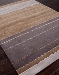Jaipur J2 J255 Zara Grey Brown/Grey Brown Closeout Area Rug - Spring 2014