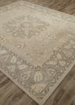 Jaipur Inspired JAI20 Antique London Fog & Tidal Foam Closeout Area Rug