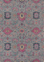 Momeni Jewel JW-01 Grey Area Rug