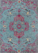 Momeni Jewel JW-02 Blue Area Rug