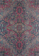 Momeni Jewel JW-03 Denim Area Rug