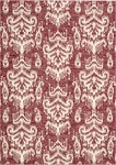 Barclay Butera Lifestyle Kaleidoscope KAL06 CRIMS Crimson Closeout Area Rug