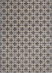 Kathy Ireland Hollywood Shimmer KI101 STEEL Times Square Steel Closeout Area Rug
