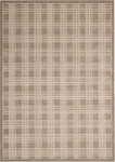 Kathy Ireland Hollywood Shimmer KI102 MOC Mission Craft Mocha Closeout Area Rug