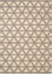 Kathy Ireland Hollywood Shimmer KI103 BISQU Metro Crossing Bisque Closeout Area Rug