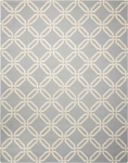 Nourison Linear LIN08 LIGHT BLUE Area Rug