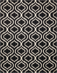 Nourison Linear LIN15 BLACK/WHIT Area Rug