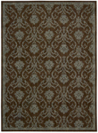 Liz Claiborne Home Radiant Impressions LK08 BRN Brown Closeout Area Rug