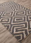 Jaipur Luxor LNK01 Charon China Blue & silver Lining Closeout Area Rug